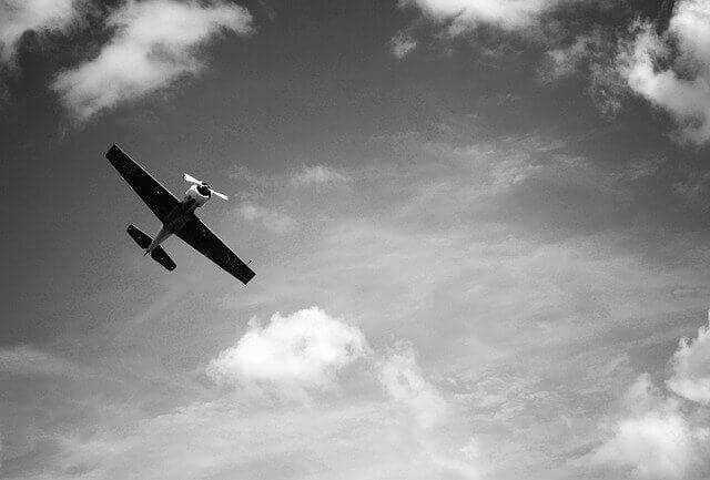 Friedrich Howanietz fliegt herum und hat einen Flugplan
